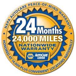 NAPA Peace of Mind Warranty